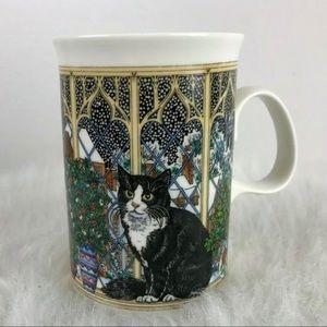 Dunoon Cat Mug Fine Bone China Cup Made Scotland